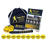 """The Rope Bat Hitting System with a Dozen Smushballs- Finally Get the Perfect Swing (High School-Adult 33"""")"""