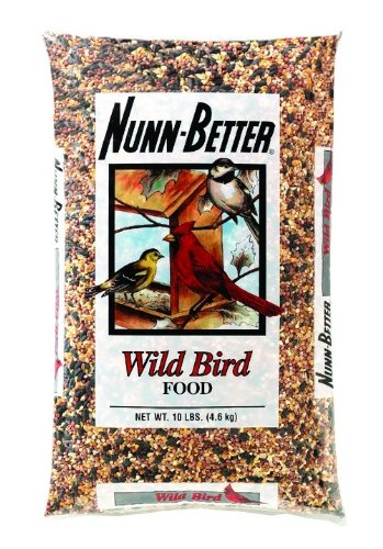 Nunn-Better 10 Lbs Wild Bird Food Blend Bird Food, My Pet Supplies