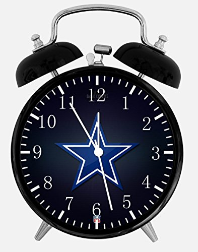 Cowboys Alarm Desk Clock 3.75