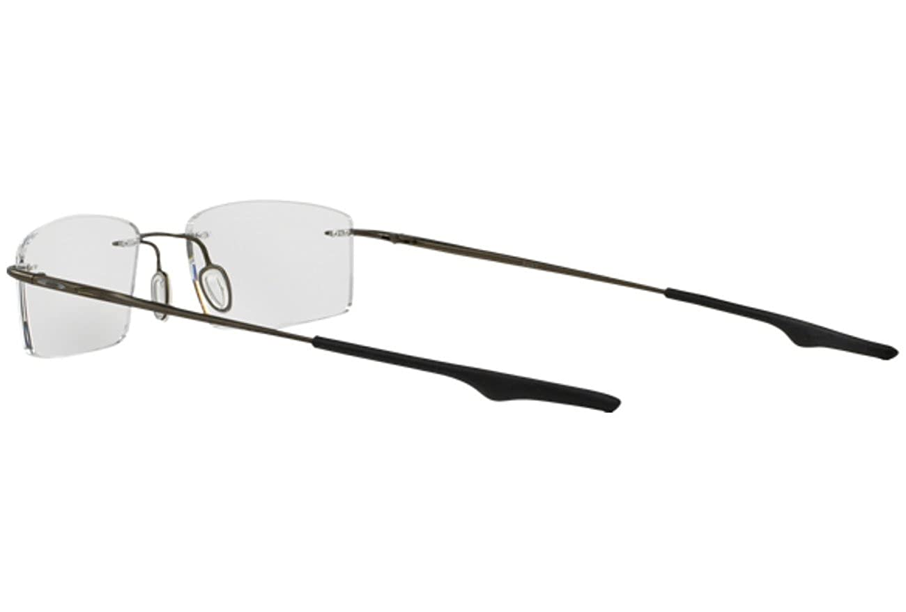 0338eba126 Oakley Men s Eyewear Frames Keel OX3122-0755 55mm Pewter at Amazon Men s  Clothing store