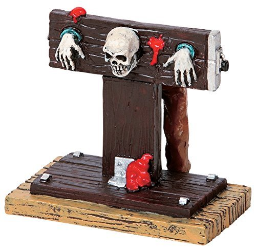 Lemax 2009 Spooky Town In the Stocks Halloween Village Figurine 92611 -