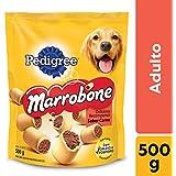 Biscoito Pedigree Marrobone Carne Para Cães Adultos 500G Pedigree para Todas Todos os tamanhos de raça Adulto - Sabor Carne 500 g