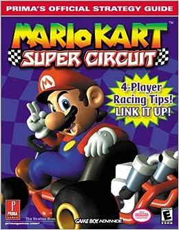 Mario Kart Super Circuit Primas Official Strategy Guide Bryan