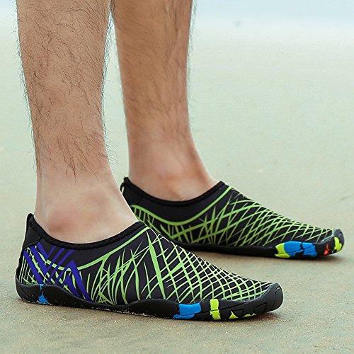 Traspirante da Unisex Water Scarpe Antiscivolo Aqua 9 Shoes Uomo Surf A Style Nuotare Donna BOZEVON Sub SqYPn4g4