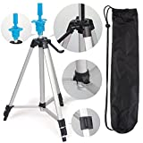 Chonlakrit Adjustable 55'' Tripod Stand Cosmetology Mannequin Training Head Holder with Bag