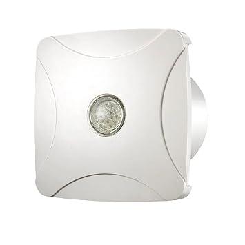 Extracteur De Salle De Bain Douche Ventilateur Lumière LED 100 Mm/10,2 Cm