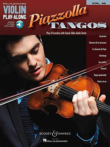 (Piazzolla Tangos: Violin Play-Along Volume 46 (Hal-Leonard Violin Play-Along))