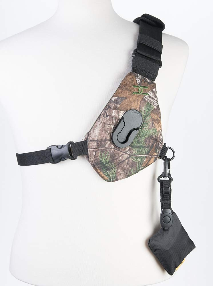 Cotton Carrier Skout Sling Style Harness for One Camera - Camo by Cotton Carrier