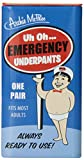 70 year old birthday gift - Accoutrements Emergency Underpants
