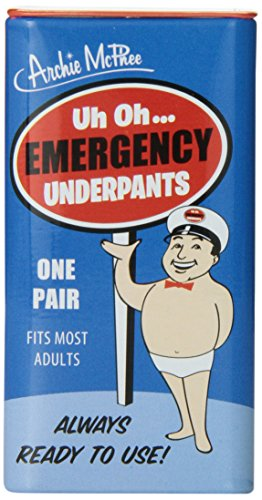 Accoutrements Emergency Underpants -