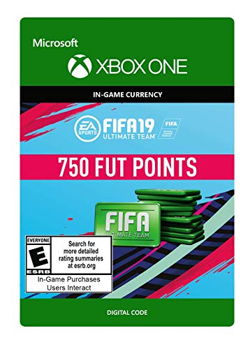 FIFA 19: ULTIMATE TEAM FIFA POINTS 750 - Xbox One [Digital Code]