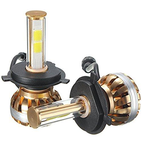 Luz de coches, Lanowo de alta intensidad LED COB Avión-grado de la cubierta de aluminio, irradiando más rápido de doble rodadura no aceite de alta ...