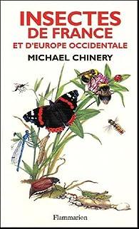 Insectes de France et d'Europe occidentale par Michael Chinery