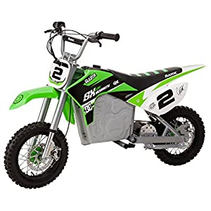 Razor SX500 Mcgrath Dirt Rocket Electric Motocross Bike, Green