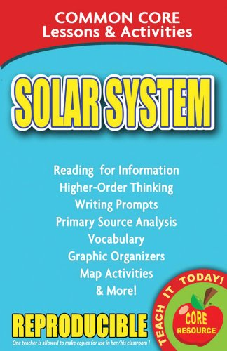 Solar System - Common Core Lessons and Activities