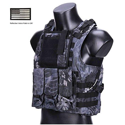 Hannah fit Tactical Vest Airsoft Modular vest CS field Outdoor Supplies Training Vest