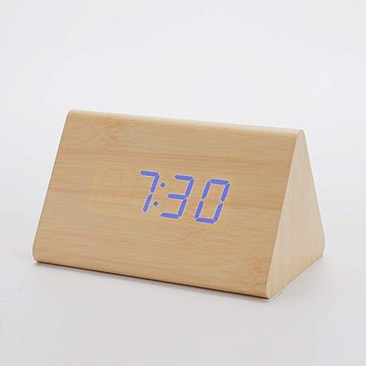 Mzbbn Despertadores Digitales Reloj Despertador Led Control De ...