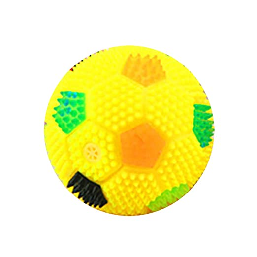 ghhshjhlk LED Intermitente Bouncing Music Hedgehog Balón De Fútbol ...