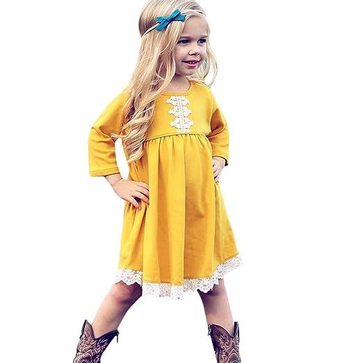 Amazon Com Infant Toddler Baby Girls Princess Dress Fall Clothes