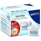 Brita Maxtra, Confezione di filtri di ricambio, 3 pz. + 1 in omaggio