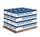 Hammermill Paper, Copy Poly Wrap, 20lb, 8.5 x11, Letter, 92 Bright, 3000 Sheets / Carton - 64 Cartons / Pallet(15030), 192,000 Sheets, Made In The USA