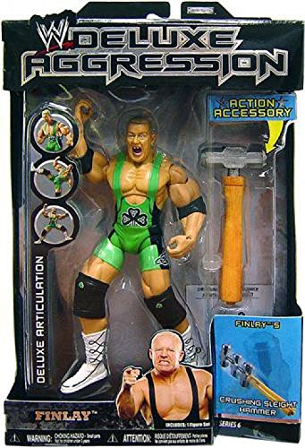 Jakks Pacific WWE Wrestling Deluxe Aggression Series 6 Finlay Action Figure