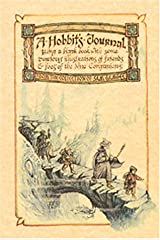 Hobbit's Journal: Being A Blank Book With Some Curious Illustrations Of Friends And Foes Of The Nine Companions (Parchment Journals) Paperback