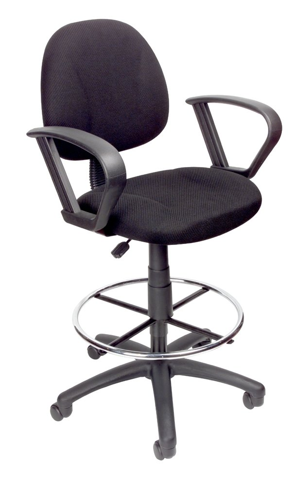 amazon com boss office products b1617 bk ergonomic works drafting