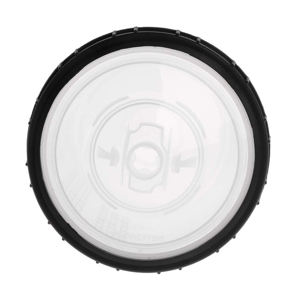 Qiulip Gobelet de m/élange de peinture PPS Type H//O Coupe rapide avec couvercles int/érieurs rigides 600 ml
