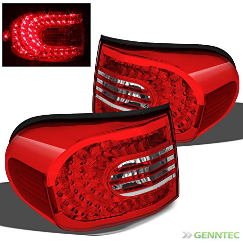 For 2007-2014 FJ Cruiser R/C LED Performance Tail Lights Rear Lamps Direct Fit Pair L+R/2008 2009 2010 2011 2012 2013
