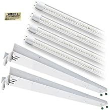 4 Results For Total Lighting Supply. LED T12 8ft. CLEAR Lens 5000K 4 Lamp  Complete Retrofit Kit Cool White Light