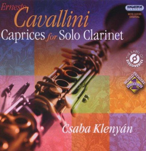 Caprices for Solo Clarinet Caprice Clarinet