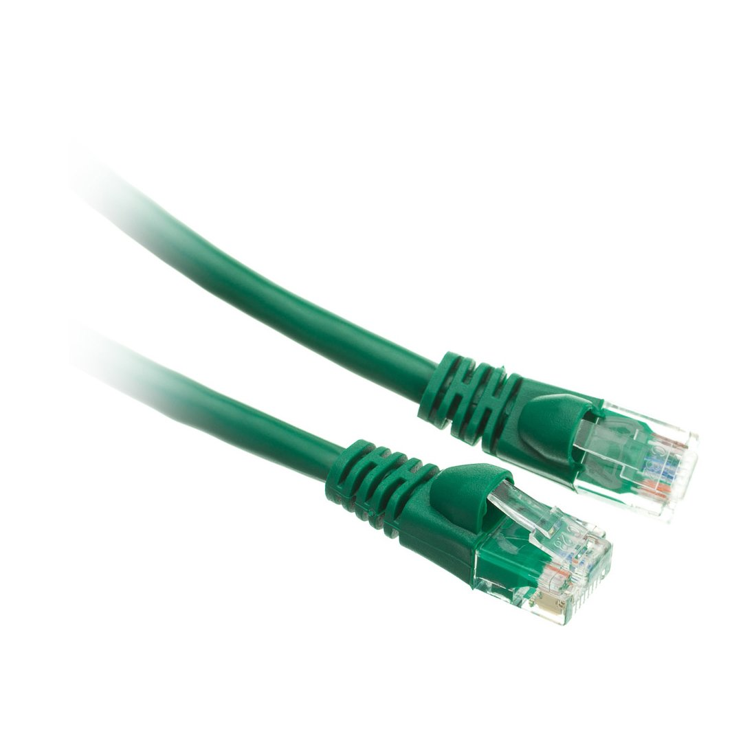C&E Cat5e 14-Foot Ethernet Patch Cable, Snagless/Molded Boot, 20-Pack, Green (CNE49868) by C&E