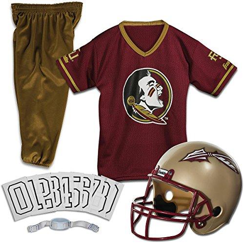 Florida State Football Halloween Costume (Franklin Sports Florida St. Deluxe Uniform Set -)