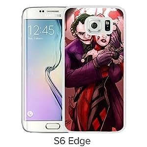 TriPack? Joker And Harley Quinn Love Samsung Galaxy S6 Edge White Phone Case