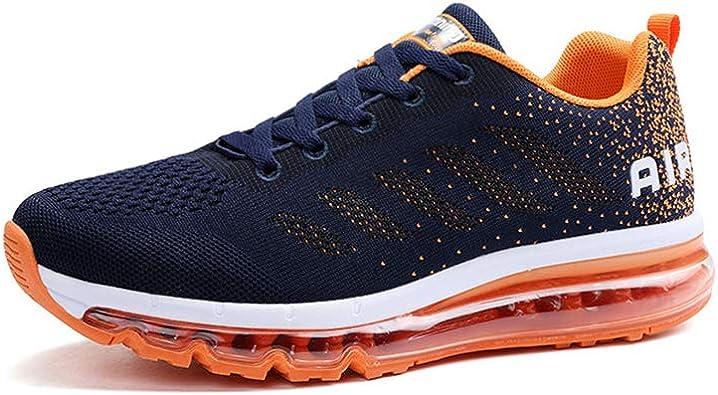 Zapatillas de Deporte con Cojines de Aire Calzado de Running Net para Estudiante Volar Zapatos Tejidos Zapatillas Deportivas de Mujer Gimnasia Sneakers 34-46 EU: Amazon.es: Zapatos y complementos
