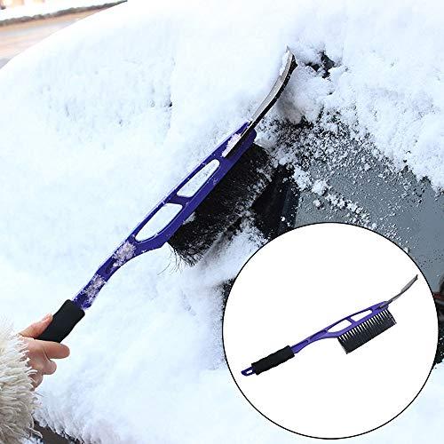 Hunputa Car Vehicle Durable Snow Brush for Car Ice Scraper with Soft Foam Grip Snow Broom Brush Head Extendable T-Shape Snow Brush for Winter Auto Truck SUV  by Hunputa-UH (Image #1)