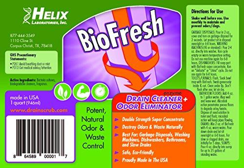 Biofresh - enzima desagüe limpiador y eliminador de olor ...