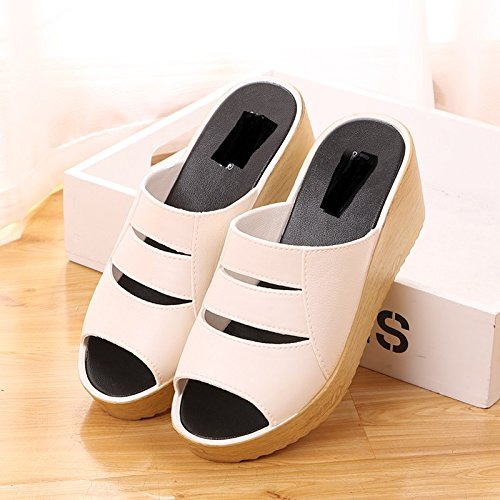 39 Cool slippers summer in white 4wXTC