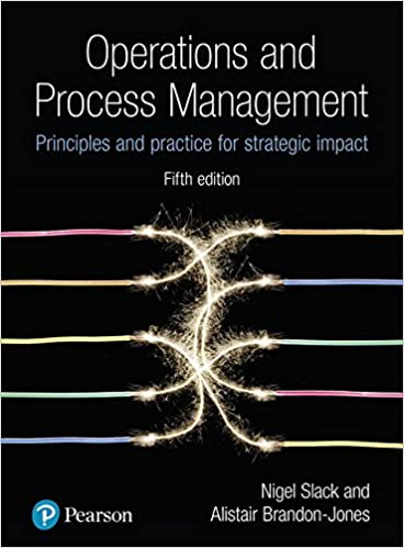 Operations & Process Management: Principles & Practice for Strategic Impact