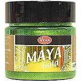 Viva Decor Maya Gold paint-apple, Acryl, grün, Medium