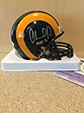 Orlando Pace Signed St Louis Rams Football Mini Helmet Silver Hof16 - JSA Authentic Cert