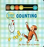 Curious Baby Counting (Curious George Board Book with Beads) (Curious Baby Curious George)