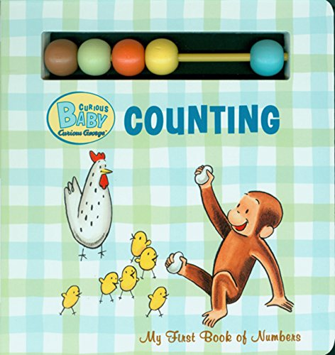 Read Online Curious Baby Counting (Curious George Board Book with Beads) (Curious Baby Curious George) ebook
