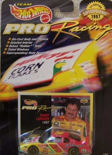 Hot Wheels 1997 1st Edition Terry Labonte #5 Kellogg's Pro Racing Superspeedway 1:64 Scale Die Cast Car