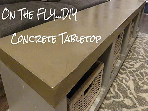 (Concrete Tabletop )