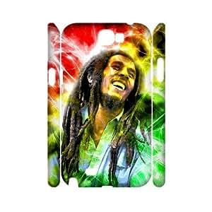 C-EUR Bob Marley Customized Hard 3D Case For Samsung Galaxy Note 2 N7100