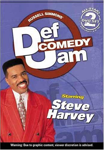 Def Jam Comedy - All-Stars Volumes 4 and 10 / Starring Steve Harvey (2 Pack)