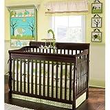 Elephant Parade 7 Piece Crib Bedding Set
