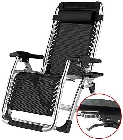 サンラウンジャー、折りたたみ式無重力椅子ビーチパティオガーデンキャンプ用サンラウンジャーリクライニングチェア屋外ポータブルホームラウンジチェアは200kgをサポート(色:シルバー)